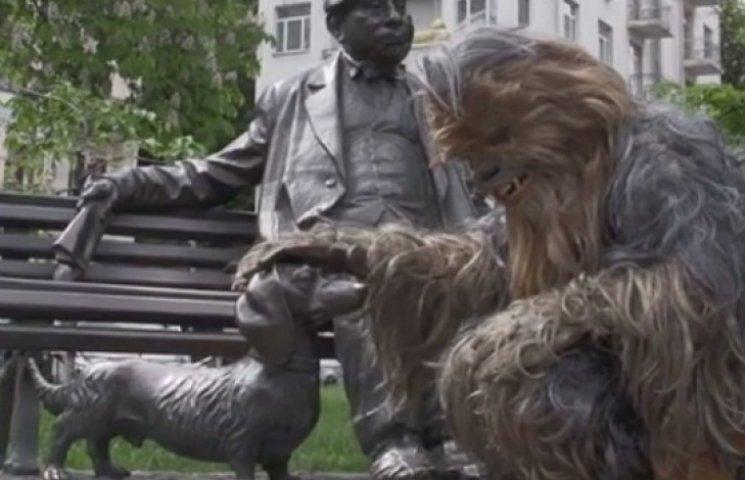 Видео признания Дарта Вейдера в любви Киеву взорвало Интернет