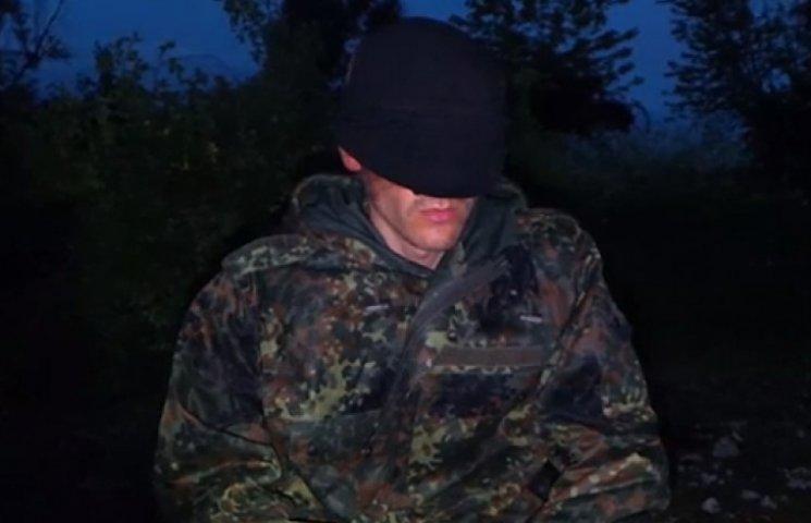 Силовики взяли в плен боевиков-разведчиков и сняли допрос на видео