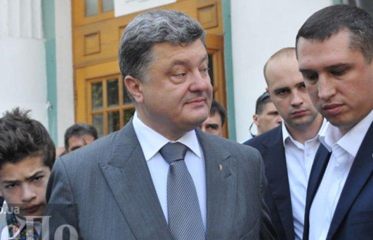 Порошенко продаст бизнес и поедет на Донбасс