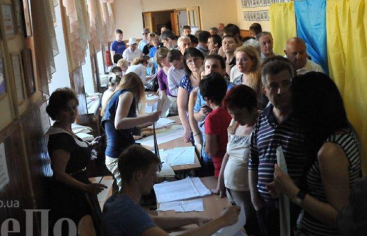 На избирательные участки пришло 62,7% киевлян