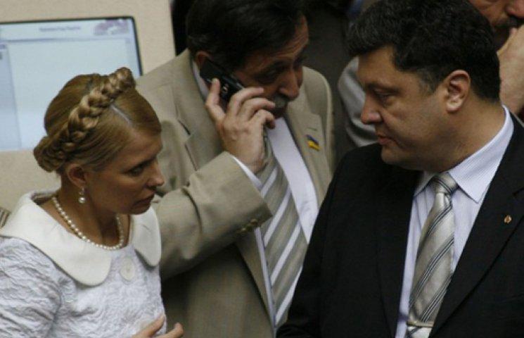 Порошенко не по душе собачьи бои с Тимошенко