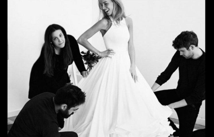 Дизайнер Мари Картанзу создала свое первое свадебное платье