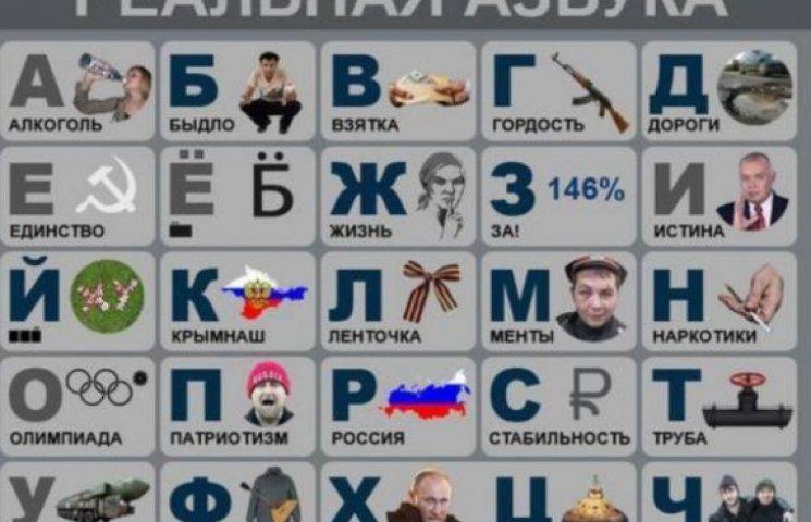 В Украине «подкорректировали» антимайдановскую азбуку для россиян