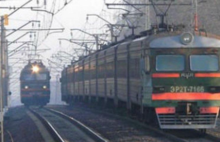 Движение поездов на восток Украины перекрыто