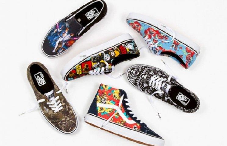 Vans выпустила обувь «Звездные войны»