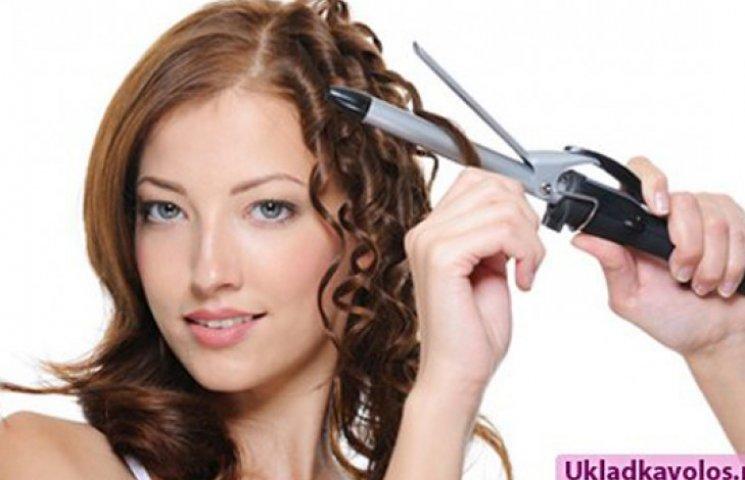 Как уберечь волосы при горячей укладке