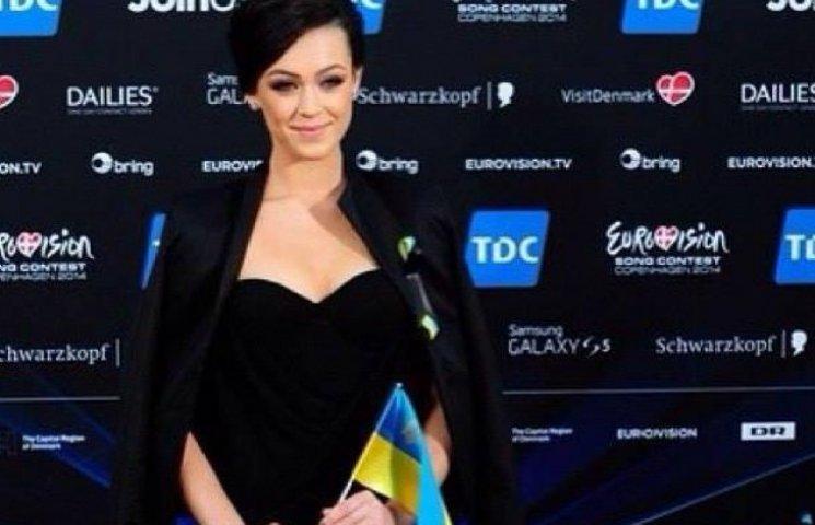 Евровидение 2014: Мария Яремчук показала платье, в котором выступит
