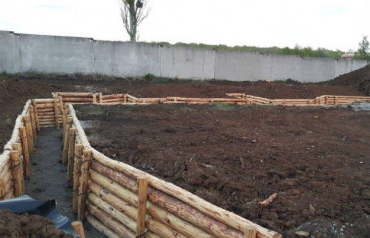 У Харкові будують оборонний форт (ФОТОФАКТ)