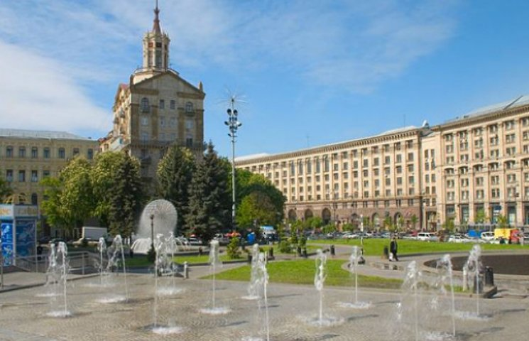 У Києві розпочався сезон фонтанів