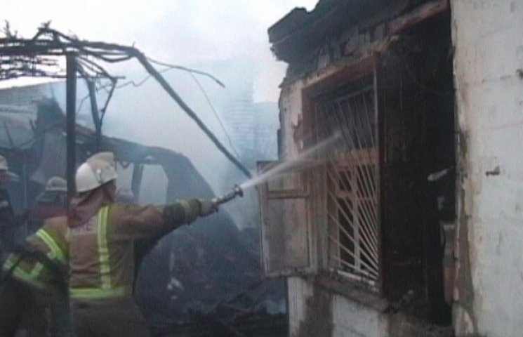 Жінка заживо згоріла у власному будинку