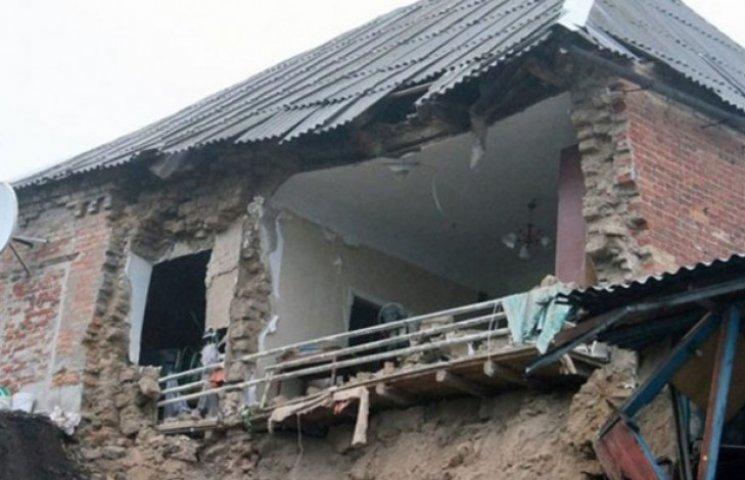 У Мелітополі вночі розвалився житловий будинок (ФОТО)