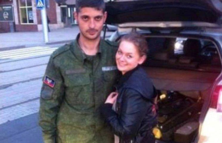 Закарпатка з Берегова хизується фото із терористом ДНР (ФОТОФАКТ)