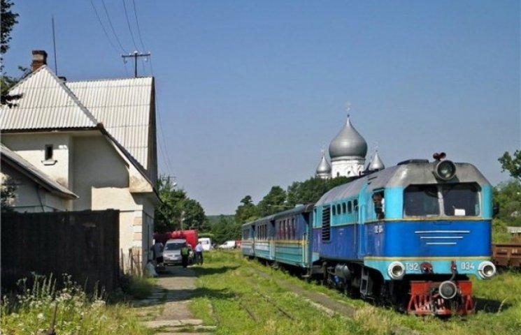 Боржавська вузькоколійка розпочала сезон міжнародним рейсом