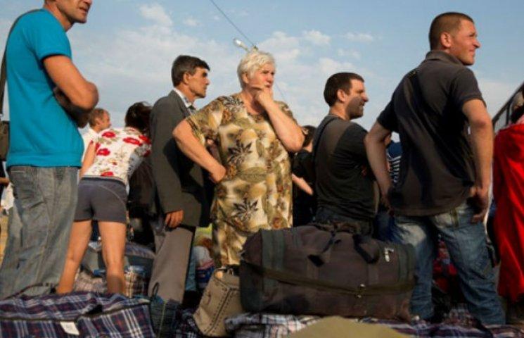 Кількість переселенців по Україні перевищила мільйон осіб