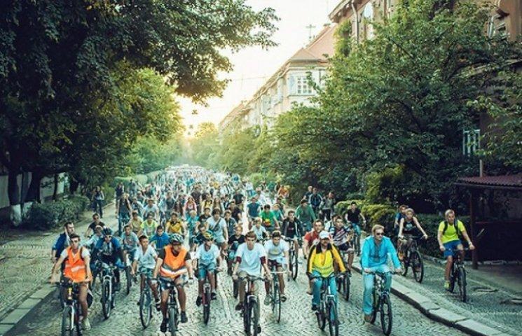 Ужгород перетворюється на місто велосипедистів (ВІДЕО)