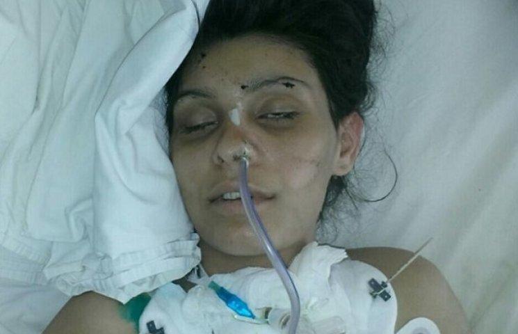 В дніпропетровській лікарні вийшла з півторамісячної коми постраждала в ДТП невідома дівчина (ФОТО)