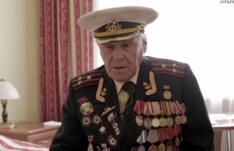 Російське ЗМІ показало запорізького ветерана, який просить зупинити Путіна (ВІДЕО)