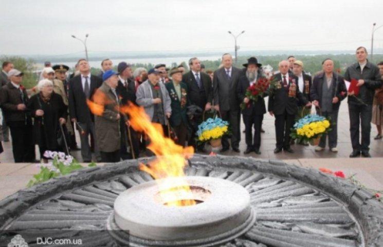 Єврейська громада через шабат вшанувала ветеранів днем раніше