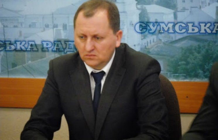 Олександр Лисенко покинув місто Суми