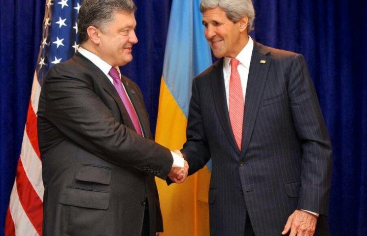 Керрі подзвонив Порошенкові та розповів, про що домовився в Росії