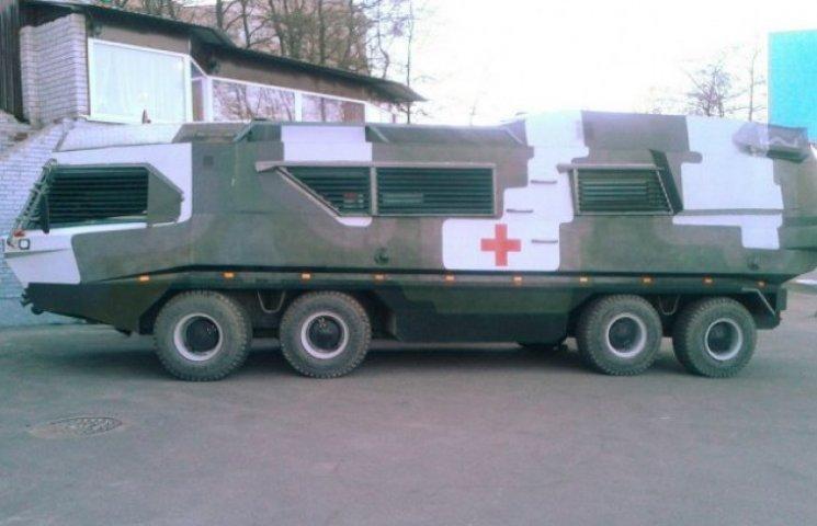 У Дніпропетровську створили плаваючий госпіталь на колесах (ВІДЕО)