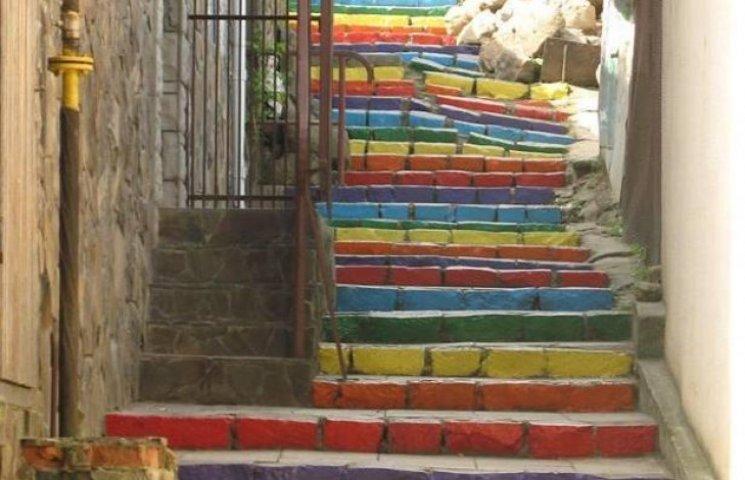 Ужгородські кольорові сходи ввійшли до Книги рекордів України (ФОТОФАКТ)