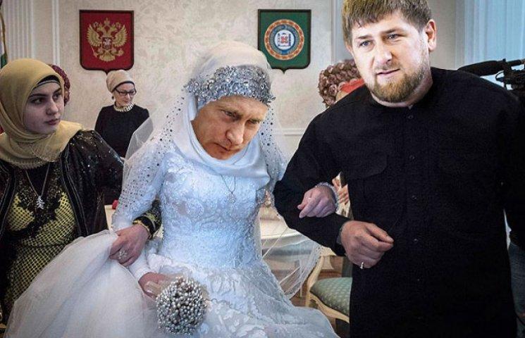 Путін і Кадиров обмінялися весільними по…
