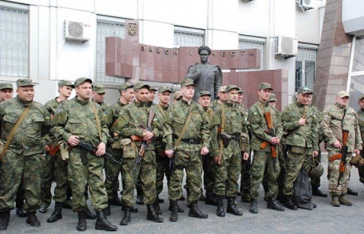 Дніпропетровські міліціонери вирушили на службу в зону АТО (ФОТО)