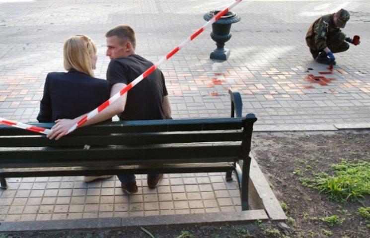 """У Сумах готуються до фіксації рекордної """"вишиванки"""" на тротуарі (ФОТОФАКТ)"""