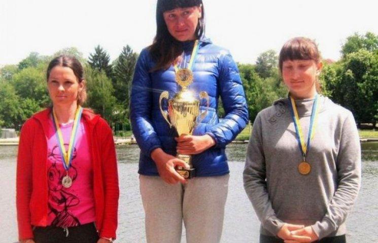 Дружина загиблого в АТО вінничанина стала чемпіонкою України