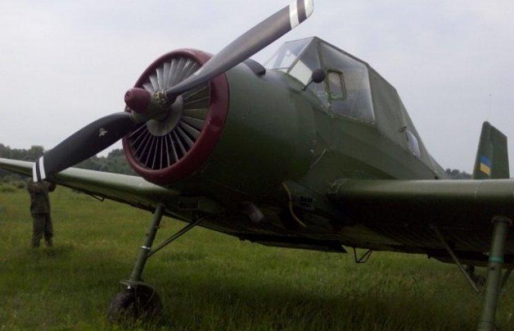 На Закарпатті знайшли контрабандний літак