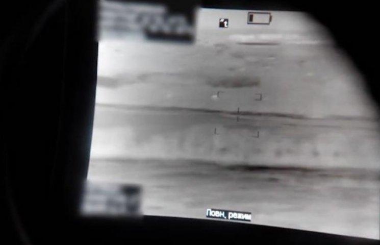 Волонтери показали унікальне відео Донецького аеропорту, зняте через тепловізор (ВІДЕО)
