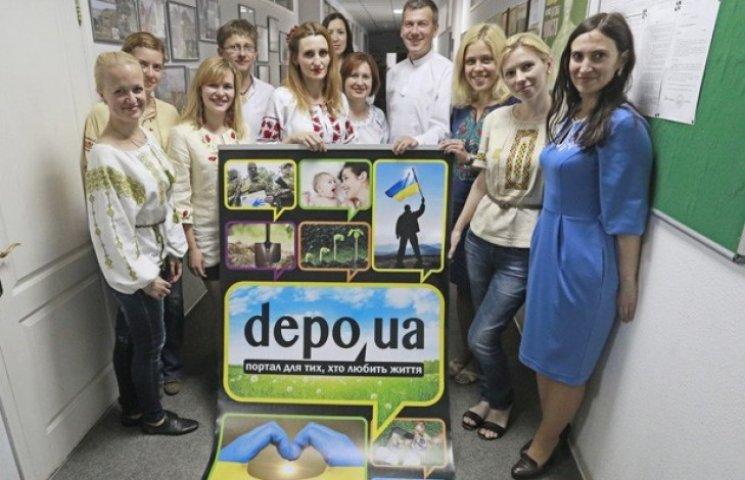Журналісти depo.ua прийшли на роботу у вишиванках