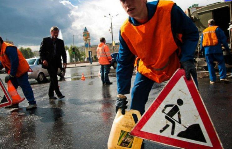 За ремонтом столичних доріг можна спостерігати через Інтернет