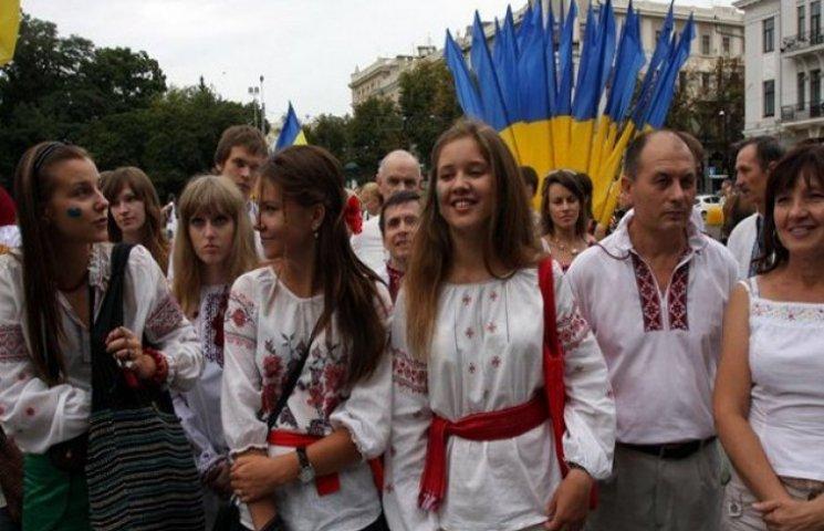 У Харкові в параді вишиванок взяли участь близько 500 людей (ФОТОФАКТ)