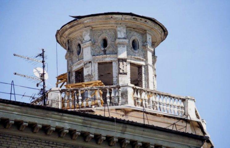 У Запоріжжі розпочався ремонт однієї з найстаріших будівель (ФОТО)