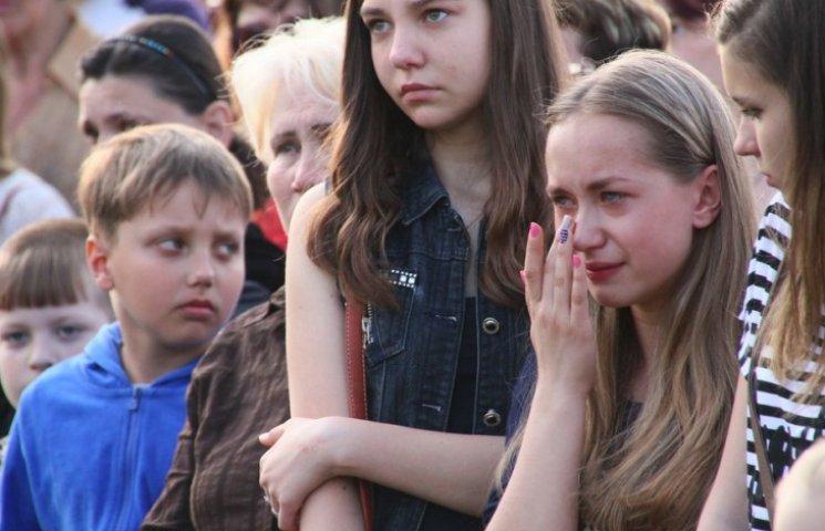 В Алчевську знайшлися мешканці, які прийшли на мітинг пам
