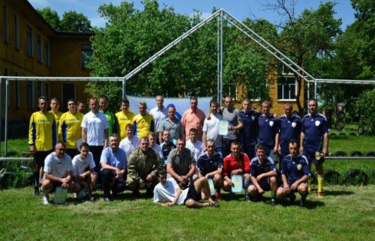 День прикордонника у Сумах відзначили футбольною перемогою (ФОТОФАКТ)
