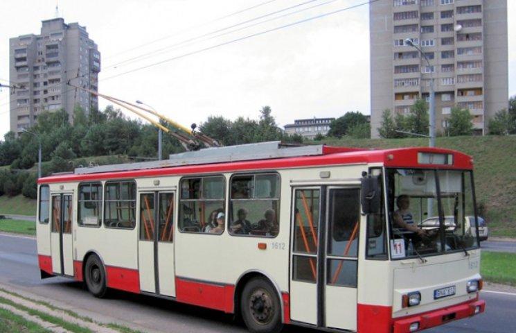 "Вулицями Сум курсуватимуть ""секонд-хенд"" тролейбуси"
