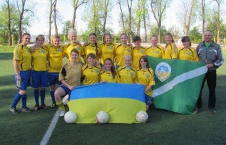 Футболістки з Козятинщини вийшли в лідери чемпіонату України