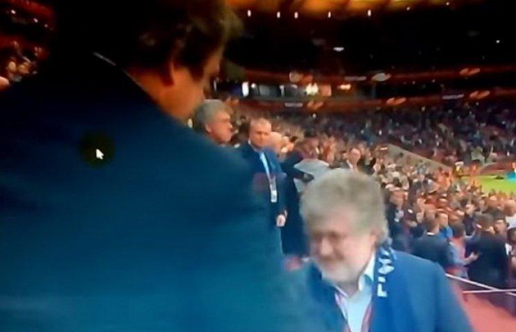 Як Коломойський отримав медаль з рук Платіні після фіналу Ліги Європи (ФОТО)