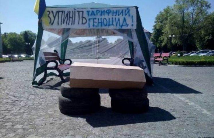 """Як закарпатські депутати та """"тарифні"""" протестувальники писали листа Яценюку"""