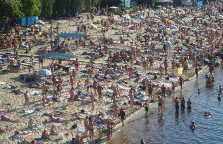 Столичні пляжі, на яких безпечно купатися (СПИСОК)
