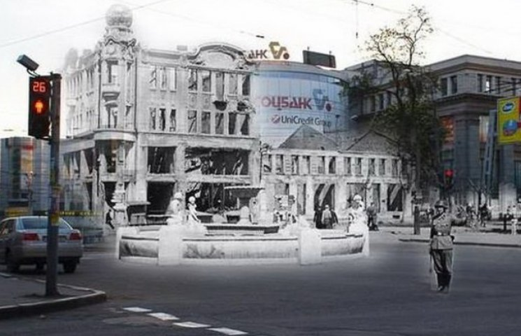Світлини сучасних вулиць Дніпропетровська з розбомбленими будинками (ФОТО)