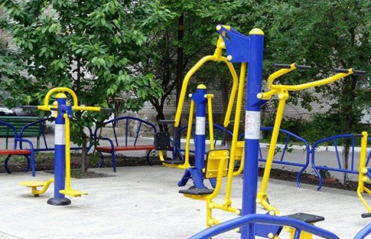 У Вінниці відкрили вже 25-й спортивно-ігровий мультикомплекс