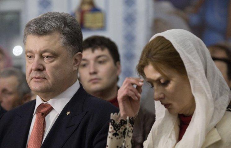Президентське подружжя у Великодню ніч помолилося за Україну