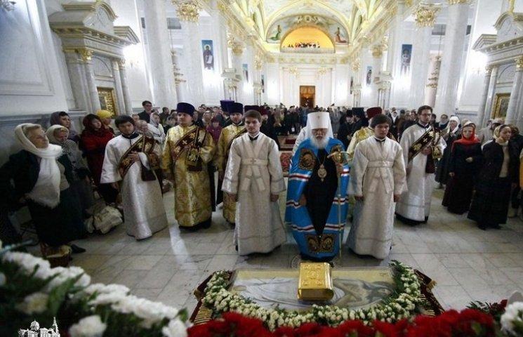 В Одесі в Спасо-Преображенському кафедральному соборі пройшла Божествена літургія