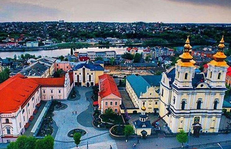 Жителям Винницы показали, как выглядит город с высоты птичьего полета