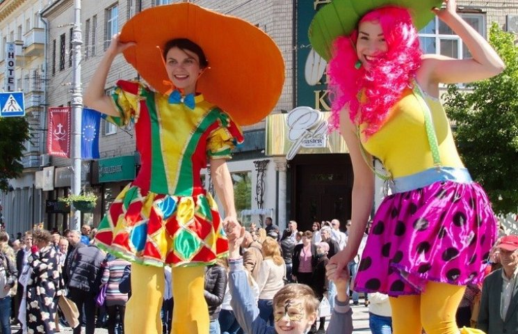 На День Європи центральну вулицю Вінниці перекриють на вісім годин