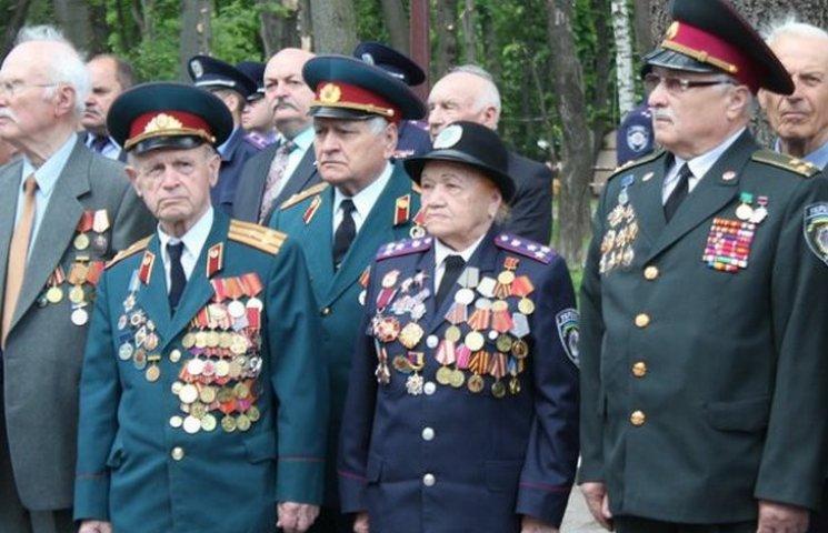 Вінницькі поліцейські вітали ветеранів